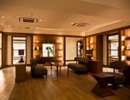 宮古島 ホテル内ライブラリー